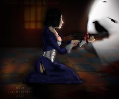 Elizabeth from Bioshock Infinite / Speed Art by EikiOfZeDead