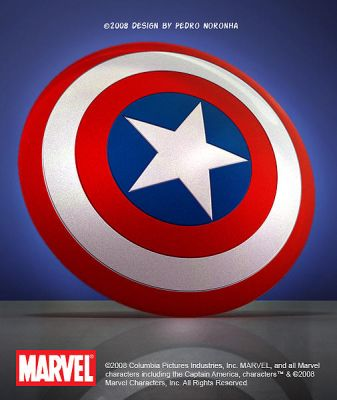 Captain America Shield by pedroqn
