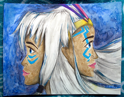 Princess Kida and The Queen by WendyFae