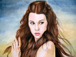 Astrid Berges Frisbey as Syrena: Detail by GuardianOfEvermore