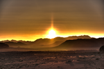 Surreal Jordan Desert Sunset by TheDuckCow