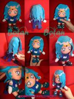 chibi Sailor Neptune plush ver by Momoiro-Botan