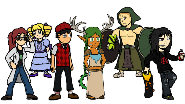 In Which I Actually Draw People by Neopolis