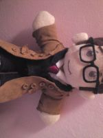 David Tennant- Doctor Plush 2 by SatsumaGirl