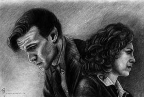 Eleven and River by Nero749