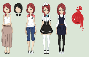 : Red Reference Sheet : [INFO ADDED] by xwondera
