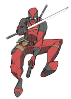 Deadpool by mlpochea
