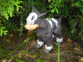 Houndour papercraft by TimBauer92