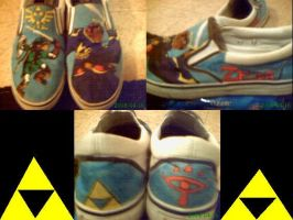 Zelda Shoes by HYRULESKNIGHT