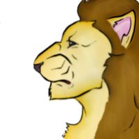 Colored Lineart Roar Thingy by Acid-Rain0929