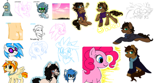 iScribble dump 6 by Lemon-Death