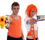 Cosplay - Korban and Leeloo MULTIPASS! by Vixen8387