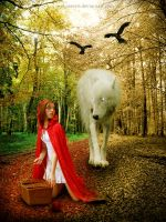 little red riding hood by Wehatearts