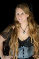 2010 Blue and Black Underbust by Cuddlyparrot