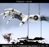 Robot hand by 35-Elissandro