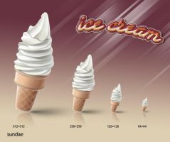 ice cream icon series-3 by rockingonion
