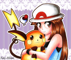 -- Pokemon Fire Red -- by Nay-Hime