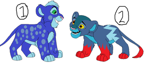 Lion King adoptables 2 by Shadowpaw909
