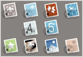 OSX Mail Stamps by cYPoHirogen