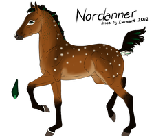 Foal design 1772 - for BRR-Nordanners by ThatDenver