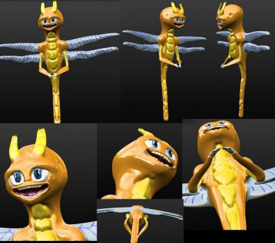 3D Sparx Model by TribeOfRushingEmbers