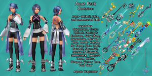 MMD Huge Aqua Pack DL by 0-0-Alice-0-0