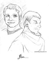 :Spirk: Have Been And Always Shall Be... by TheYumeNoInu