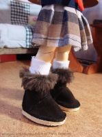 UGG Boots for BJD by AnastasiasArts