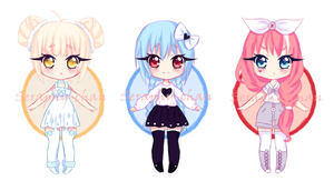 [Auction] Random adoptables 1 ~Closed~ by Seraphy-chan
