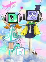 Happy Airport Shuttle Day! [Pop'n Music/AquesTone] by the01angel