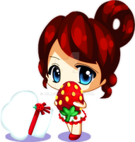 Strawberry Chibi by HelloPusa