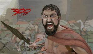 300 Movie Scene by mepling