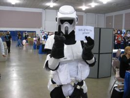 FanimeCon - Scout Trooper by Wardog1