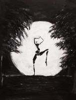 Moonlight dancer by Vaudano