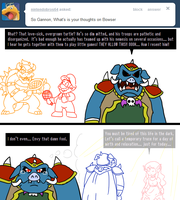 Ask Ganon - Bowser? by pocket-arsenal
