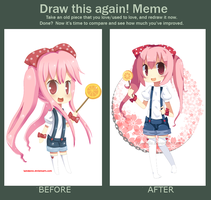 Draw This Again Meme 4 by hanahello