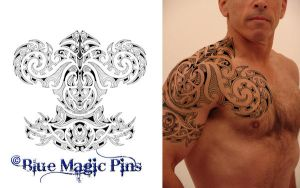 Maori Tribal Example by anchica