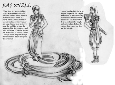Rapunzel info by Engirish