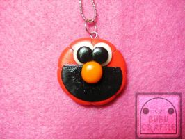 Elmo Necklace 2 by efeeha