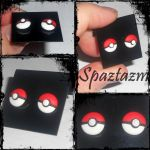 New better pokeball earrings by spaztazm