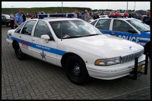 1993 Chevrolet Caprice Police by compaan-art