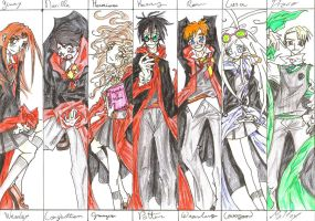 Harry Potter Seven Main by ClaudySummer