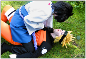 I won't fight you, Sasuke by WammysCosplay