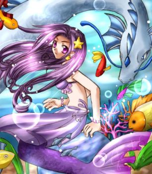 Colours under the sea by ferus