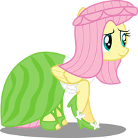 Her Inspiration Manifests: Ms. Fluttershy Posey by Canterlotian