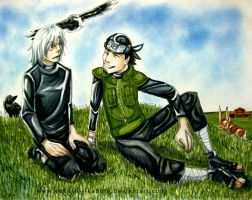 Commission: Thank you for believing in me.... by Yakushi--Kabuto
