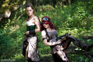 Steampunk : 2012 : Tink and Floz 2 by HyperXP