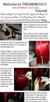 How to flatten a 'curly' wig, Tutorial! by Tohkoe