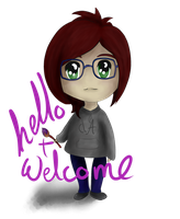 Hello and Welcome v.2 by Idle-Emma