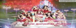 happy 6th anniversary snsd facebook cover by alisonporter1994